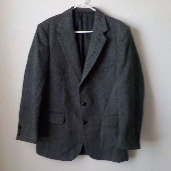 Austin Reed Other - Austin Reeds Wool Blazer 40R Dark Gray Two Botton